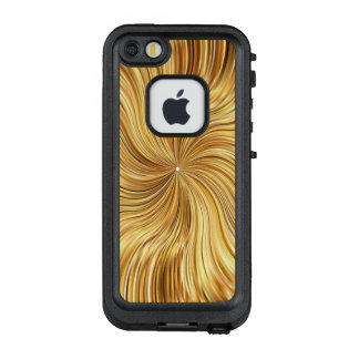 Colorful Abstract Brown Reflective LifeProof FRĒ iPhone SE/5/5s Case