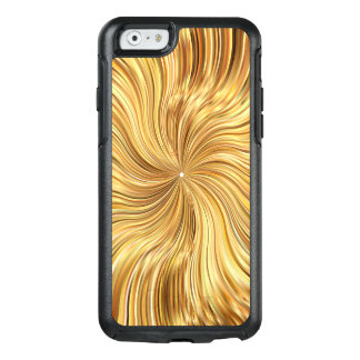 Colorful Abstract Brown Reflective OtterBox iPhone 6/6s Case