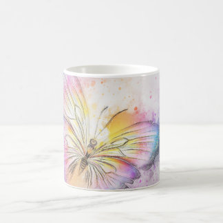 Colorful Abstract Butterfly Coffee Mug