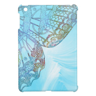 Colorful Abstract Butterfly Design iPad Mini Covers