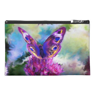 Colorful Abstract Butterfly Travel Accessories Bags