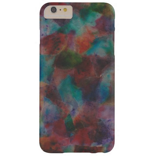 Colorful Abstract Barely There iPhone 6 Plus Case