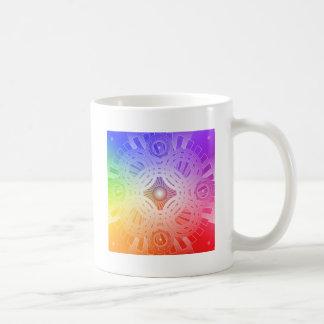Colorful Abstract Circles: Coffee Mug