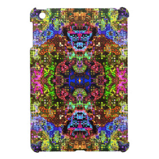 Colorful Abstract Circles Collage iPad Mini Cover