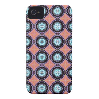 Colorful Abstract Circles Pattern iPhone 4 Case