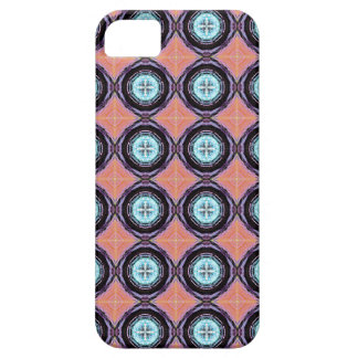 Colorful Abstract Circles Pattern iPhone SE/5/5s Case