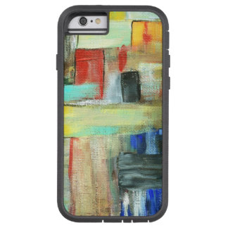Colorful Abstract Cityscape Original Art Painting Tough Xtreme iPhone 6 Case
