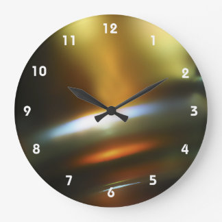 Colorful Abstract Clocks