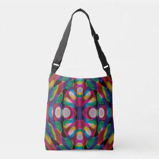 Colorful Abstract Crossbody Bag