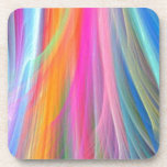 Colorful Abstract Design Beverage Coasters