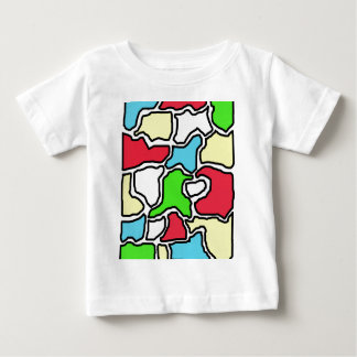 Colorful abstract design by Moma Baby T-Shirt
