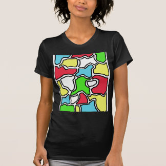 Colorful abstract design by Moma T-Shirt