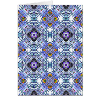 Colorful Abstract Design Card