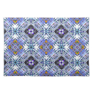 Colorful Abstract Design Cloth Placemat