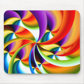 Colorful Abstract Design Mousepad