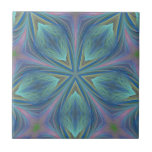 Colorful Abstract Design Tile