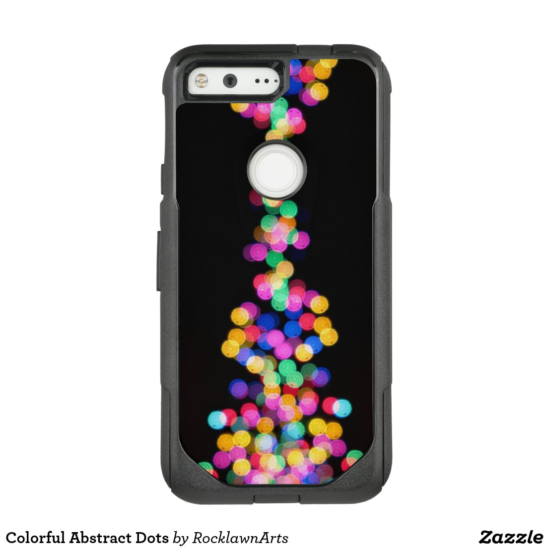 Colorful Abstract Dots OtterBox Commuter Google Pixel Case