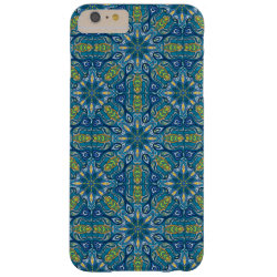 Colorful abstract ethnic floral mandala pattern de barely there iPhone 6 plus case