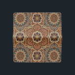 "Colorful abstract ethnic floral mandala pattern de checkbook cover<br><div class=""desc"">Decorative colorful bohemian retro mandala flowers vintage pattern.</div>"