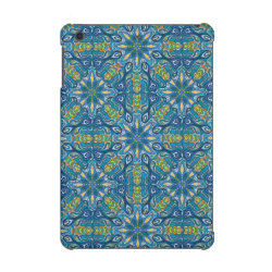 Colorful abstract ethnic floral mandala pattern de iPad mini retina covers