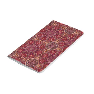 Aztec Themed Colorful abstract ethnic floral mandala pattern de journal