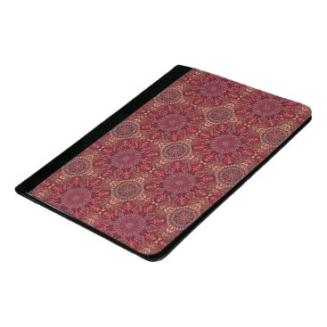 Aztec Themed Colorful abstract ethnic floral mandala pattern de padfolio