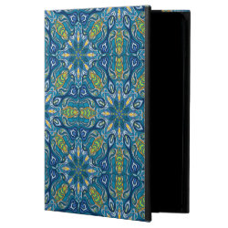 Colorful abstract ethnic floral mandala pattern de powis iPad air 2 case