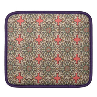 Colorful abstract ethnic floral mandala pattern de sleeve for iPads