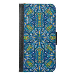 Galaxy S6 Wallet Case with Puli Phone Cases design