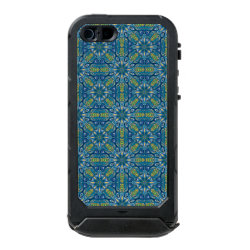 Colorful abstract ethnic floral mandala pattern de waterproof case for iPhone SE/5/5s