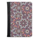 Colorful abstract ethnic floral mandala pattern kindle case
