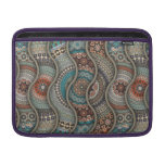 Colorful abstract ethnic floral mandala pattern MacBook air sleeve