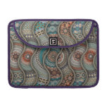 Colorful abstract ethnic floral mandala pattern sleeve for MacBooks