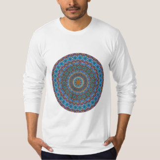 Colorful abstract ethnic floral mandala pattern T-Shirt