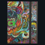 """Colorful Abstract Floral Collage iPad Air Cover<br><div class=""""desc"""">Colorful abstract grunge foral collage</div>"""