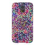 Colorful Abstract Floral Design Cases For Galaxy S5