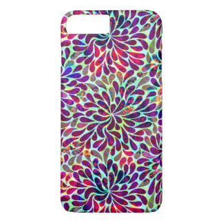 Colorful Abstract Floral Design iPhone 7 Plus Case