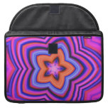 Colorful Abstract Flower Art MacBook Pro Sleeve