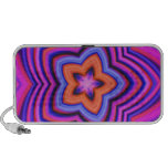 Colorful Abstract Flower Art Portable Speaker