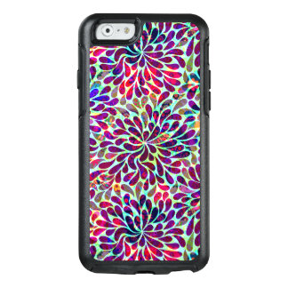 Colorful Abstract Flowers Seamless Pattern OtterBox iPhone 6/6s Case