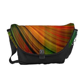 Colorful abstract Fractal Art Courier Bag