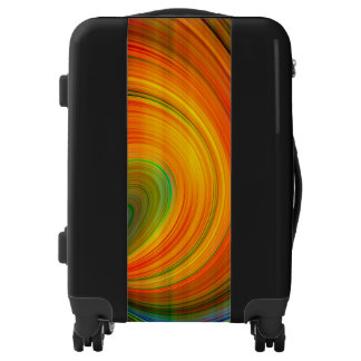 Colorful abstract Fractal Art Luggage