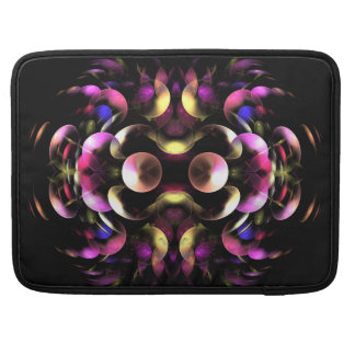Colorful abstract Fractal Art Sleeve For MacBook Pro