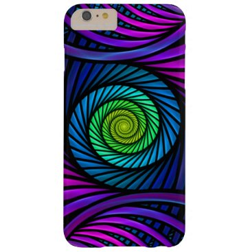 Colorful Abstract Fractal iPhone 6 Plus Cases