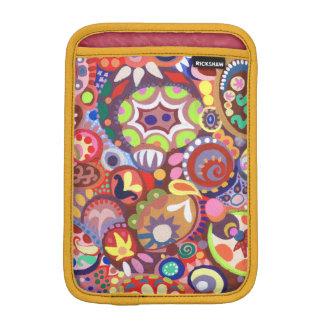 Colorful Abstract Funky iPad Mini Sleeve