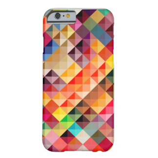 Colorful Abstract Geometric Barely There iPhone 6 Case