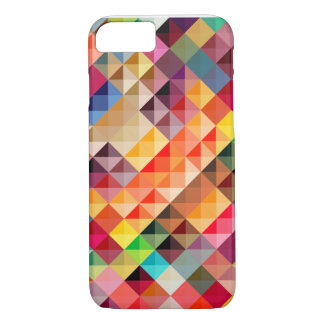 Colorful Abstract Geometric iPhone 7 Case