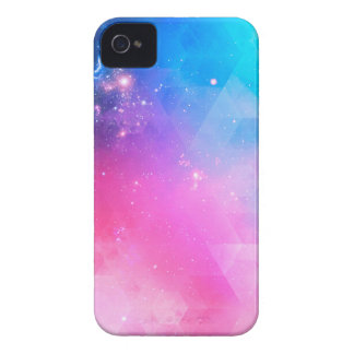Colorful Abstract Geometric Sky Galaxy iPhone 4 Case