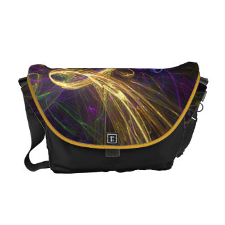 Colorful Abstract Handbag Courier Bags