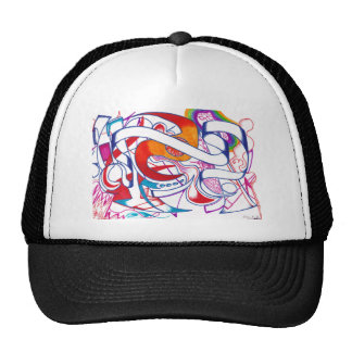 Colorful Abstract Trucker Hats